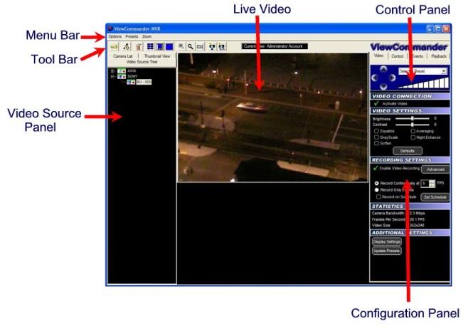 IP Camera Recording Software - ViewCommander-NVR